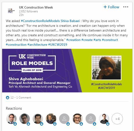 UK Construction Role Model